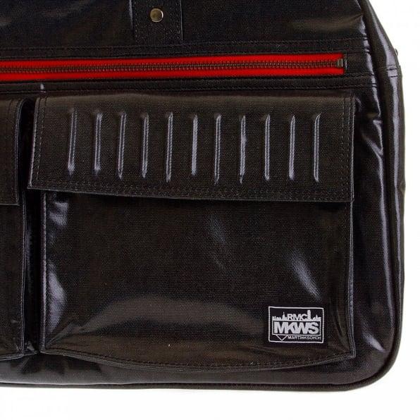 RMC MKWS Unisex Coated Denim with Laminated Tartan Lining Hand Held Office Bag