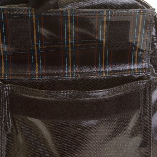 RMC MKWS Unisex Coated Denim with Laminated Tartan Lining Hand Held Office Bag