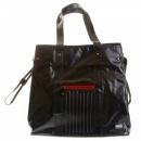 RMC MKWS Unisex Coated Denim with Laminated Tartan Lining Shopper Bag