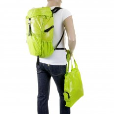 Unisex Lime Lightweight Nylon Backpack