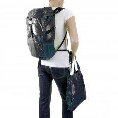 Unisex Navy Lightweight Nylon Backpack