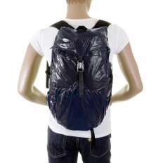 Unisex Navy Lightweight Nylon Backpack