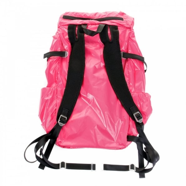 RMC MKWS Unisex Pink Lightweight Nylon Backpack