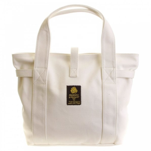 RMC MKWS Versatile Unisex White Canvas Hand Carry Bag
