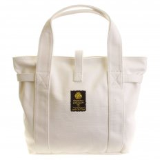 Versatile Unisex White Canvas Hand Carry Bag