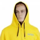 RMC MKWS Yellow Hooded Zipped Regular Fit Sweatshirt