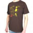 ROGUE MONK Brown T Shirt
