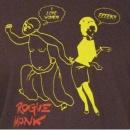 ROGUE MONK Brown T Shirt
