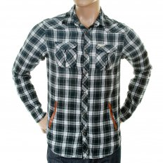 Cotton Double Layer Long Sleeve Regular Fit Worker Shirt