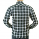 SCOTCH & SODA Cotton Double Layer Long Sleeve Regular Fit Worker Shirt