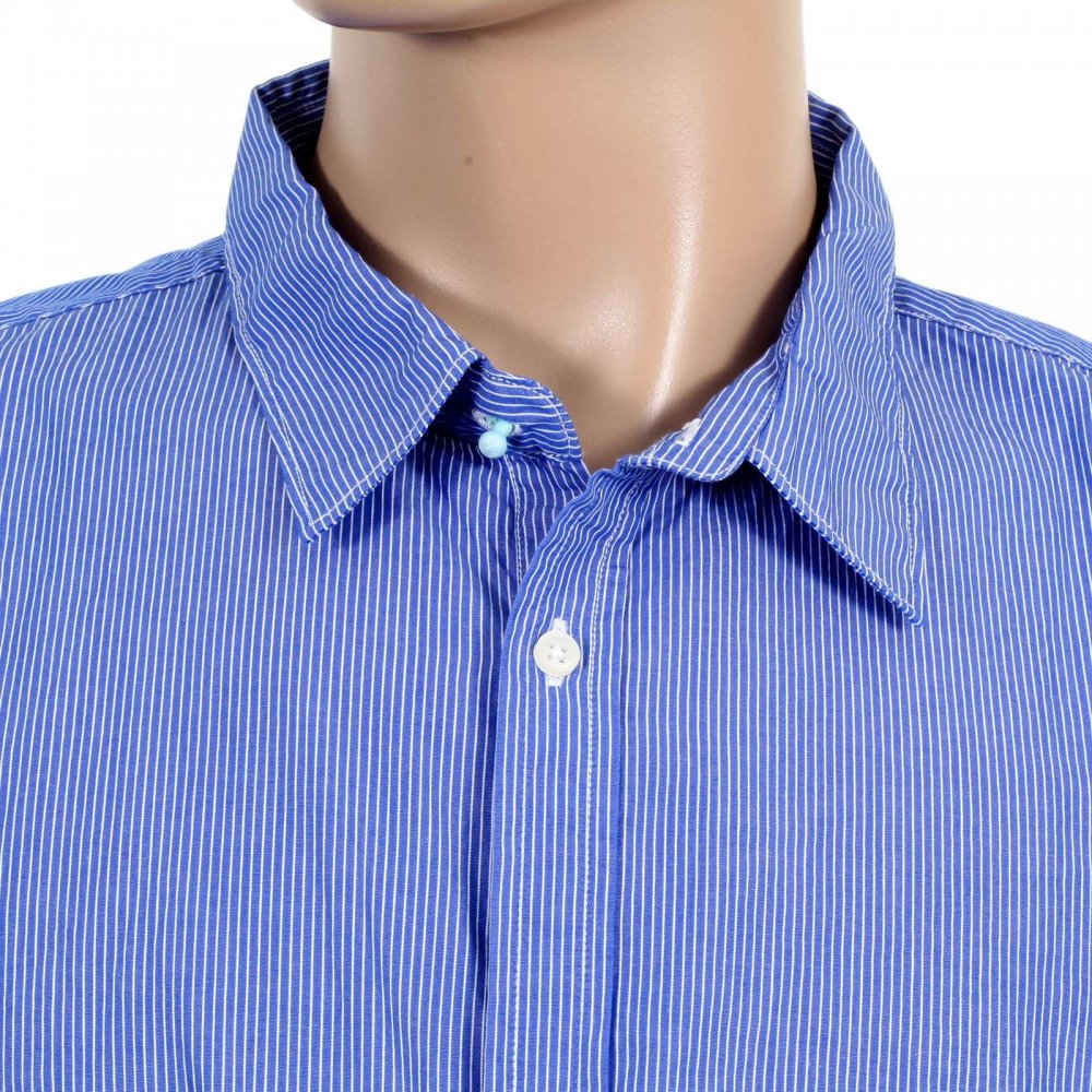 Buy exclusive long sleeve shirt from scotch and soda for Blue and white long sleeve shirt