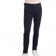 Mens Black Stretch Denim Skinny Jeans
