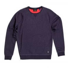 Mens Crew Neck Regular Fit Raglan Seamed Sleeve Sweatshirt in Plum by Scotch and Soda SCOT6785