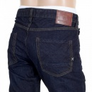 SCOTCH & SODA Mens Indigo Blue Washed Slim Fit Denim Jeans