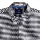 SCOTCH & SODA Mens Regular Fit Long Sleeve Black and White Semi Dogtooth Check Shirt for Men by Scotch and Soda