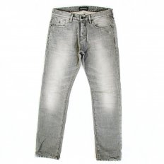 Ralston Grey Washed Slim Fit Worn Finish Denim Jeans