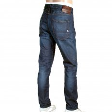 Ralston Washed Dark Indigo Slim Fit Denim Jeans