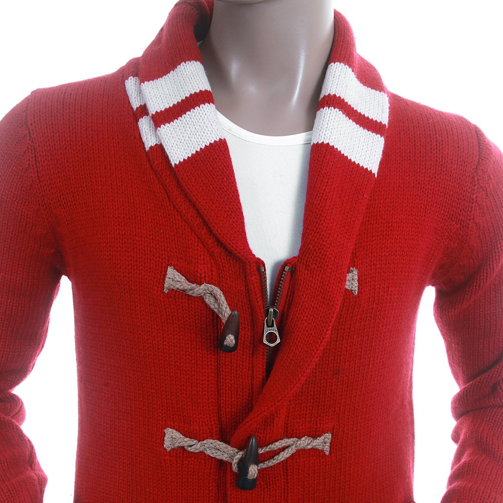 Buy Dazzling Scotch and Soda Mens Chunky Knit Cardigan at Niro Fashion
