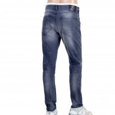 Skinny Fit Charcoal Grey Stretch Denim Classic Jeans
