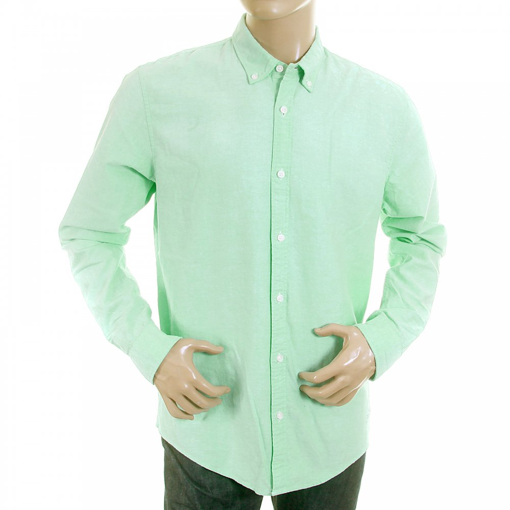 Lovely Pastel Green Oxford Shirt From Scotch And Soda At