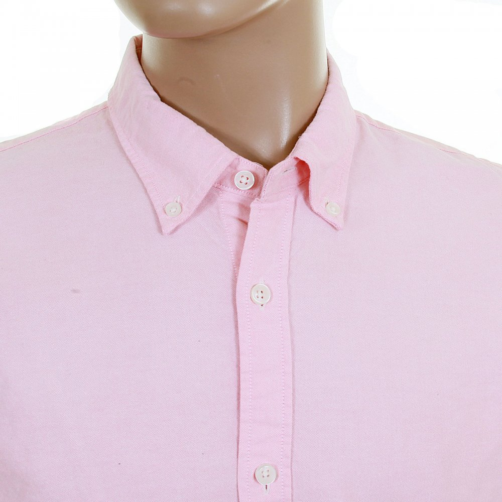 Scotch and Soda Pastel Pink Oxford Shirts for Men Online at Niro UK