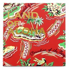 Limited Edition Red Hardback Image Book On the History of Hawaii, the Land of Aloha Shirt SS01881