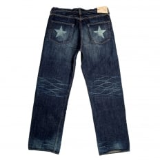 Lone Star SC40902H 5 Year Aged Wash Japanese Selvedge 14oz Denim Jeans with Vintage and Aged Finish