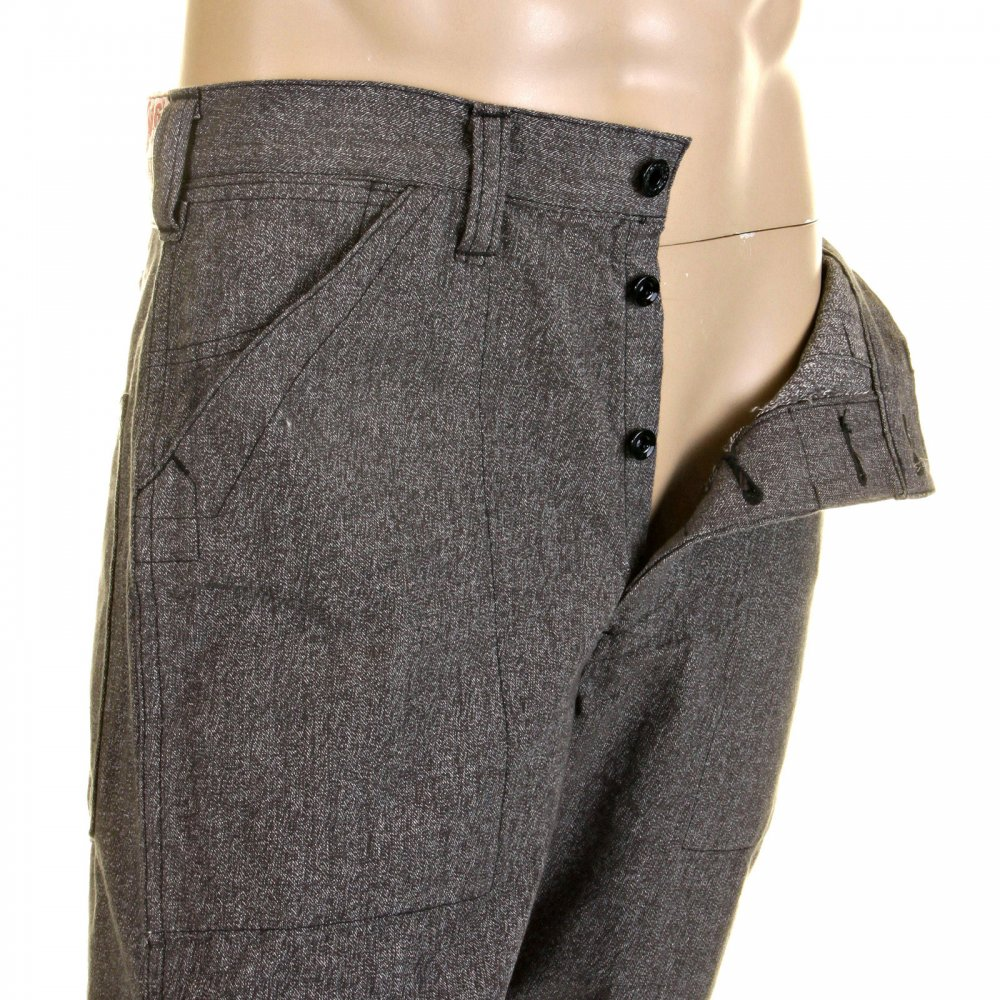 Well-liked Shop for Exquisite Mens Grey Pants from Sugar Cane Online Store Now CI92
