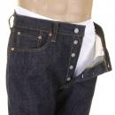SUGAR CANE Mens Non Wash African Cotton Vintage Cut Japanese Selvedge Denim Jeans SC41947N