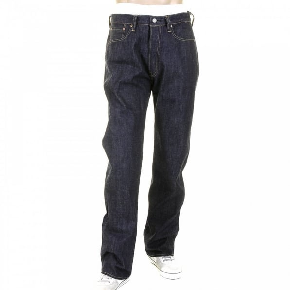 SUGAR CANE Mens Non Wash African Cotton Vintage Cut Japanese Selvedge Denim Jeans SC41947N