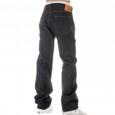 Mens Non Wash Vintage Cut Selvedge Denim Jeans SC42009N