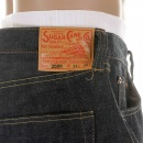 SUGAR CANE Mens Non Wash Vintage Cut Selvedge Denim Jeans SC42009N