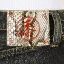 SUGAR CANE Mens Okinawa Vintage Cut Button Fly Selvedge Hard Wash Denim Jeans SC40301H