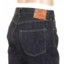 SUGAR CANE Mens One Wash Navy Vintage Cut Japanese Selvedge Denim Jeans SC41947A