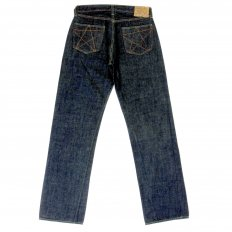 Mens Rinsed Vintage Cut Victory Star One Wash Selvedge Denim Jeans SC40045A