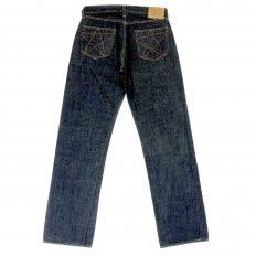 Mens Rinsed Vintage Cut Victory Star One Wash Selvedge Denim Jeans SC40045A