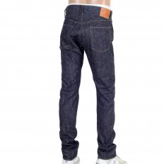 Mens Slim Fit Non Wash Straight Leg Navy Denim Jeans SC42014N
