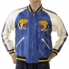 Mens Special Edition Fully Reversible Musashi and Giant Panda Regular Fit Suka Memorial Jacket TT12420