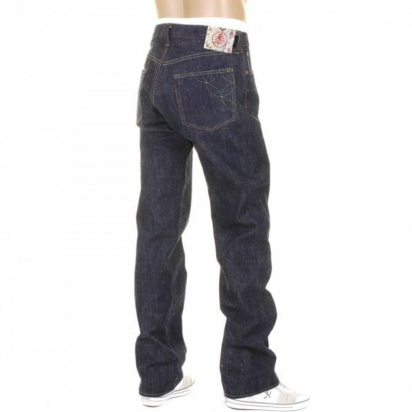 SUGAR CANE Mens Vintage Cut Okinawa Non Wash Selvedge Raw Denim Jeans SC40301N
