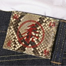 SUGAR CANE Mens Vintage Cut Okinawa Non Wash Selvedge Raw Denim Jeans SC40301N