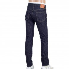 Slim Fit Lower Rise Straight Leg Denim One Wash Jeans SC42014A