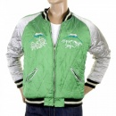 SUGAR CANE Special Limited Edition Musashi and Giant Panda Fully Reversible Regular Fit Memorial Suka Jacket TT12420