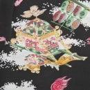 SUN SURF Brown Rayon Made Short Sleeve SS37773 Regular Fit Mens Hawaiian Shirt with Oriental Festival Print