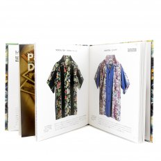Hardback Aloha Project Book with Cover Bound in Printed Land of Aloha Kabe Crepe Paper SS01880