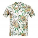 SUN SURF Off White Rayon Short Sleeve SS37774 Regular Fit Mens Hawaiian Shirt with Dreams and Pineapples Print