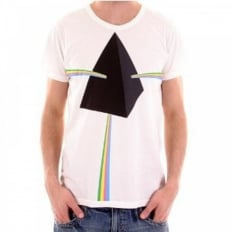 Short Sleeve Pyramid White T Shirt