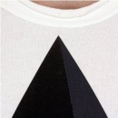 TSUBI Short Sleeve Pyramid White T Shirt