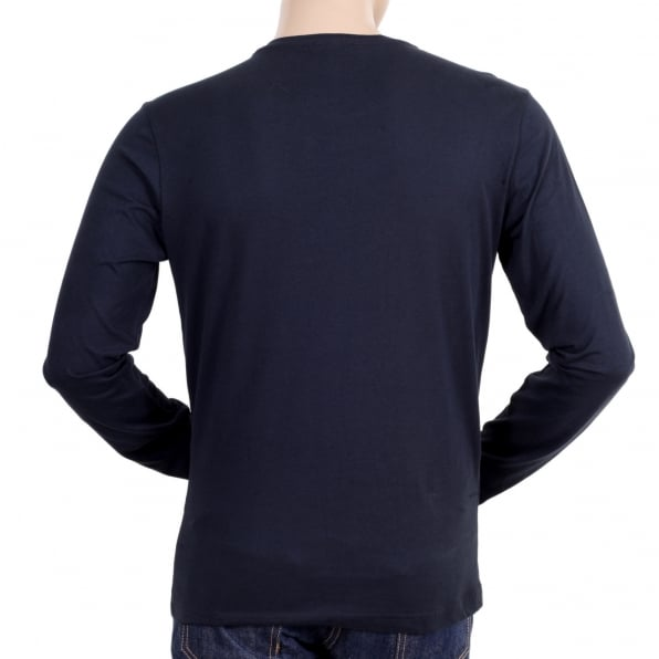 Stylish And Edgy Long Sleeve T Shirt With Print By Versace