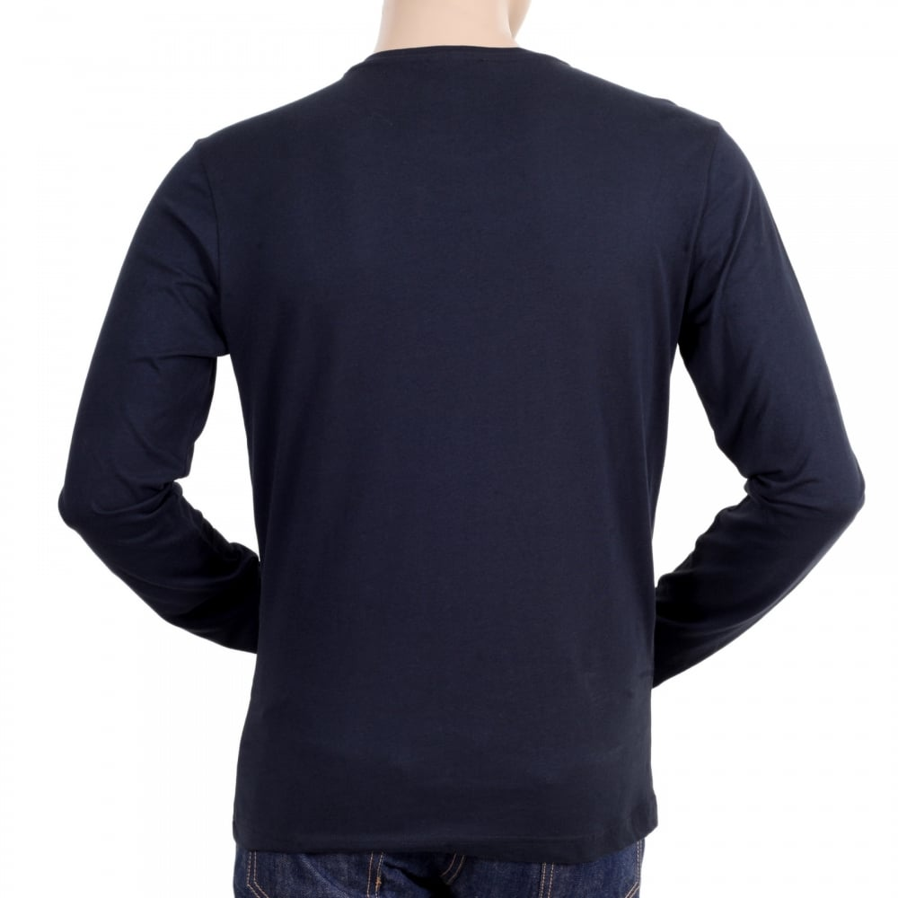 Stylish and edgy long sleeve t shirt with print by versace for Long sleeve t shirt printing