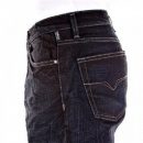 VERSACE JEANS Dark Indigo Loose Fit Straight Leg Denim Jeans